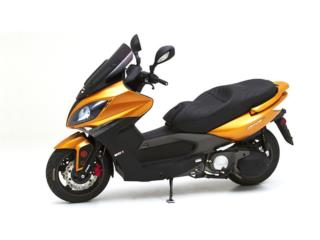 KYMCO XCITING 500 2012 COLOR MOSTAZA, APC Racing Scooter & Motorcycle   Puerto Rico