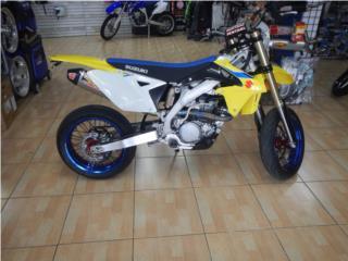 Suzuki RMX-450 2018 Hecha Supermoto, Motorcycle World  Puerto Rico