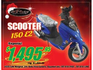 Gator Scooter 150 E2 2018, The Scooter Part Shop & Motorcycle Puerto Rico