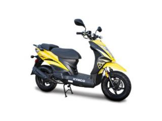 NUEVA 2018 KYMCO SUPER 8 150X Black or Yellow, APC Racing Scooter & Motorcycle   Puerto Rico