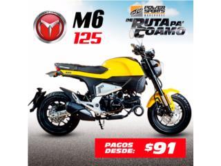 ¡SUPER MINI BIKE MOTRAC M6, 125CC!, POWER SPORT WAREHOUSE Puerto Rico