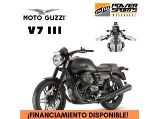 ¡NEW! MOTO GUZZI V7 III, POWER SPORT WAREHOUSE Puerto Rico