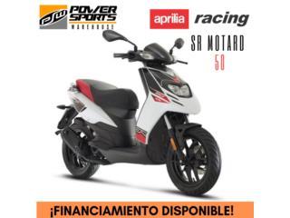 ¡NEW! APRILIA SR MOTARD 50CC, POWER SPORT WAREHOUSE Puerto Rico