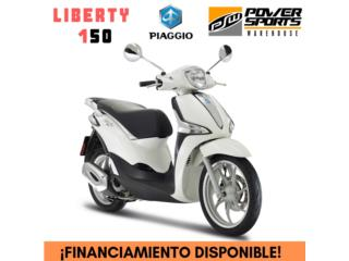 ¡NEW! PIAGGIO LIBERTY 150CC, POWER SPORT WAREHOUSE Puerto Rico