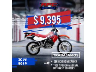 HONDA XR650 2019  , APC Racing Scooter & Motorcycle   Puerto Rico
