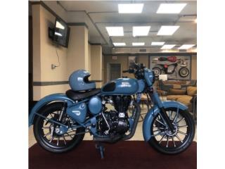 ROYAL ENFIELD CUADRON BLUE CUSTOM', Caribbean Motorcycles Puerto Rico