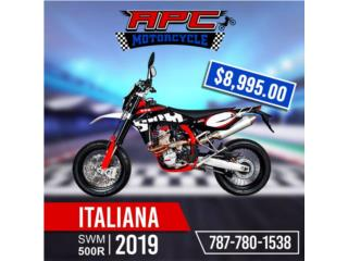 SWM 500R SUPERMOTO 2019 , APC Racing Scooter & Motorcycle   Puerto Rico