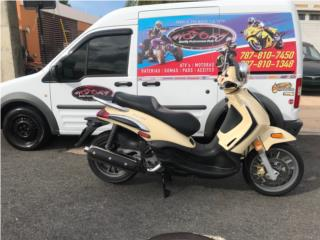 Scooter Piaggio BV500 2009 Importada, The Scooter Part Shop & Motorcycle Puerto Rico