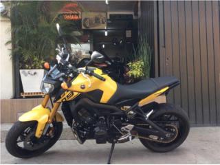 Motora Yamaha FZ-09 2015 Importada, The Scooter Part Shop & Motorcycle Puerto Rico