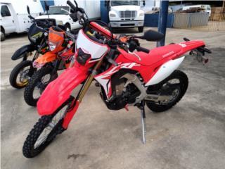 2019 HONDA CRF450L IMPORTADA, UNITED MOTORCYCLE Puerto Rico