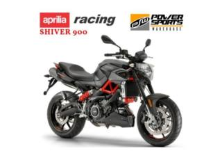 ¡NEW! APRILIA SHIVER 900, POWER SPORT WAREHOUSE Puerto Rico