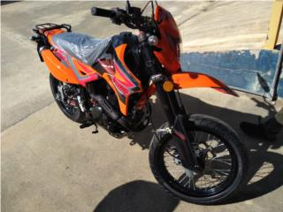 2020 SUPER MOTO SSR 250, UNITED MOTORCYCLE Puerto Rico