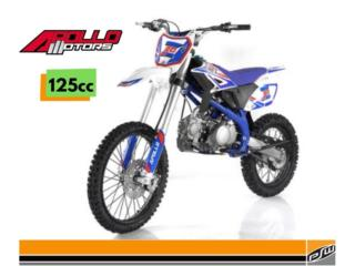 ¡NEW APOLLO RFZ 125CC MAX 20! VARIOS COLORES, POWER SPORT WAREHOUSE Puerto Rico