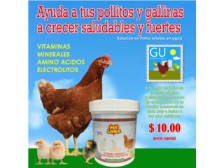 Vitamina soluble Para Pollos y aves de corral, GALLINAS URBANAS