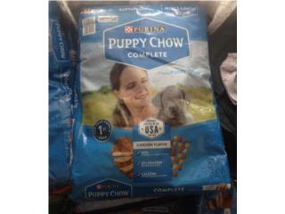 Puppychow 16.5lbs $17 ivu incluido, Family Pets