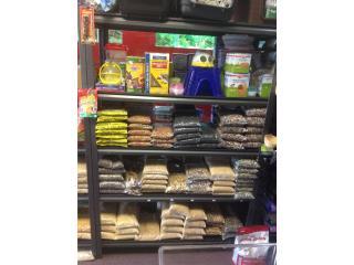 Alimento para aves al detal o sacos Puerto Rico