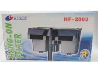 HANG ON FILTER HF 2003, OUTLET PET CENTER & CENTRO AGRICOLA