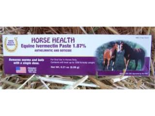 EQUINE EVERMECTIN, OUTLET PET CENTER & CENTRO AGRICOLA