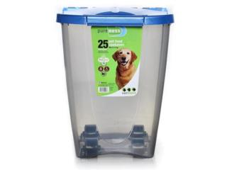 PET FOOD CONTAINER 25 LBS, OUTLET PET CENTER & CENTRO AGRICOLA