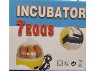 INCUBADORAS ( DESDE 7 HUEVOS ), OUTLET PET CENTER & CENTRO AGRICOLA