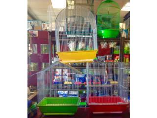 Jaula para finche, canario, pericos, Isabela Pet Shop