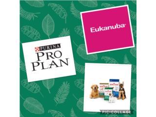 Proplan, royal canin, eukanuba, Isabela Pet Shop