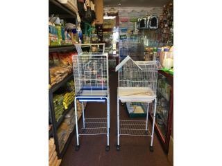 Jaulas para aves con carrito, Isabela Pet Shop