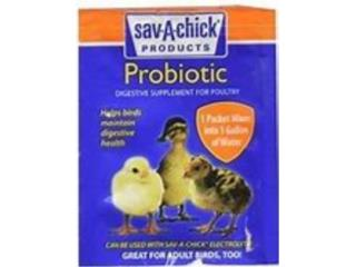 SAV-A-CHICK PROBIOTIC, OUTLET PET CENTER & CENTRO AGRICOLA