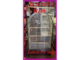 Jaulas para cotorras bien comodas, Isabela Pet Shop