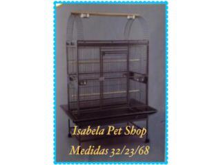 Jaula para cacatúas, africanas, guacamayo, Isabela Pet Shop