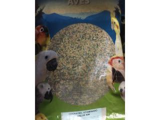 Alimento Cockatiel y Lovebirds 50 libras , Isabela Pet Shop