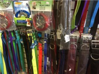 Collares, tendores, cadenas leash, Isabela Pet Shop