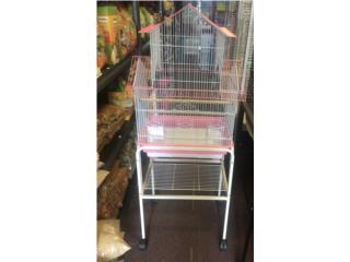 Jaula con stand para cockatiel,Lovebirds, Isabela Pet Shop