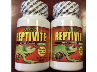 Vitaminas para reptiles  Puerto Rico