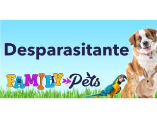 Desparasitante para perros y gatos, Family Pets