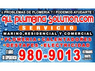 Clasificados Puerto Rico Plumbing and Electrical Service ATH