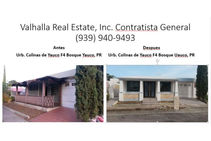 Remodela tu casa puerto rico valhalla real estate inc for Remodela tu casa tu mismo