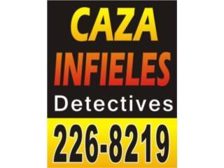 CAZA INFIELES DETECTIVES