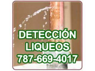 Plomero, Deteccion de liqueos, Certifcaciones AAA
