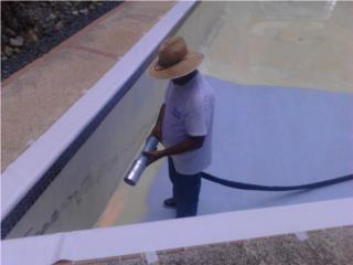 Toa Baja Puerto Rico Tormenteras, AquaBright  Thermoplastic pool coating