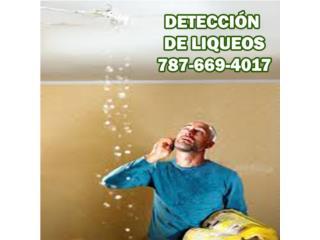 Detección y Reparación de liqueos Certificaciones
