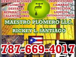 PLOMERIA  DESTAPES REPARACIONES EMERGENCIAS Real Estate Puerto Rico