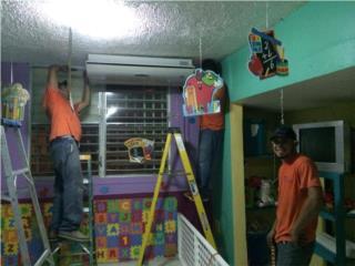 Puerto Rico Verjas PVC, INSTALACION DE AIRES INVERTER DESDE $195.00