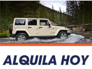 Alquiler de Jeep 4 puertas