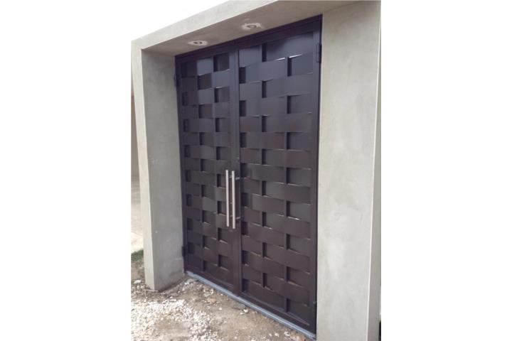 Instalacion puertas y ventanas en acero puerto rico for Alfombras baratas santiago