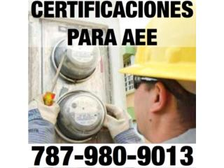 PERITOS ELECTRICISTAS 787-980-9013 PUERTO RICO Real Estate Puerto Rico