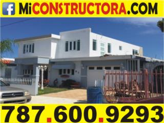 2DAS PLANTAS EN 45 DIAS! CONSTRUCCION EN GENERAL Real Estate Puerto Rico