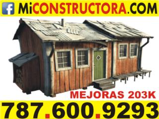 Mayag�ez Puerto Rico Equipo Construccion, CONSTRUCIONES PARA PRESTAMOS 203 K