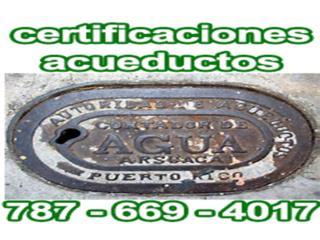 Maestro Plomero, Certificaciones Acueductos