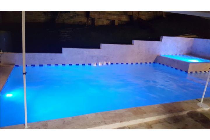 Construcci n piscinas terrazas fachadas losas puerto rico for Losas para piscinas